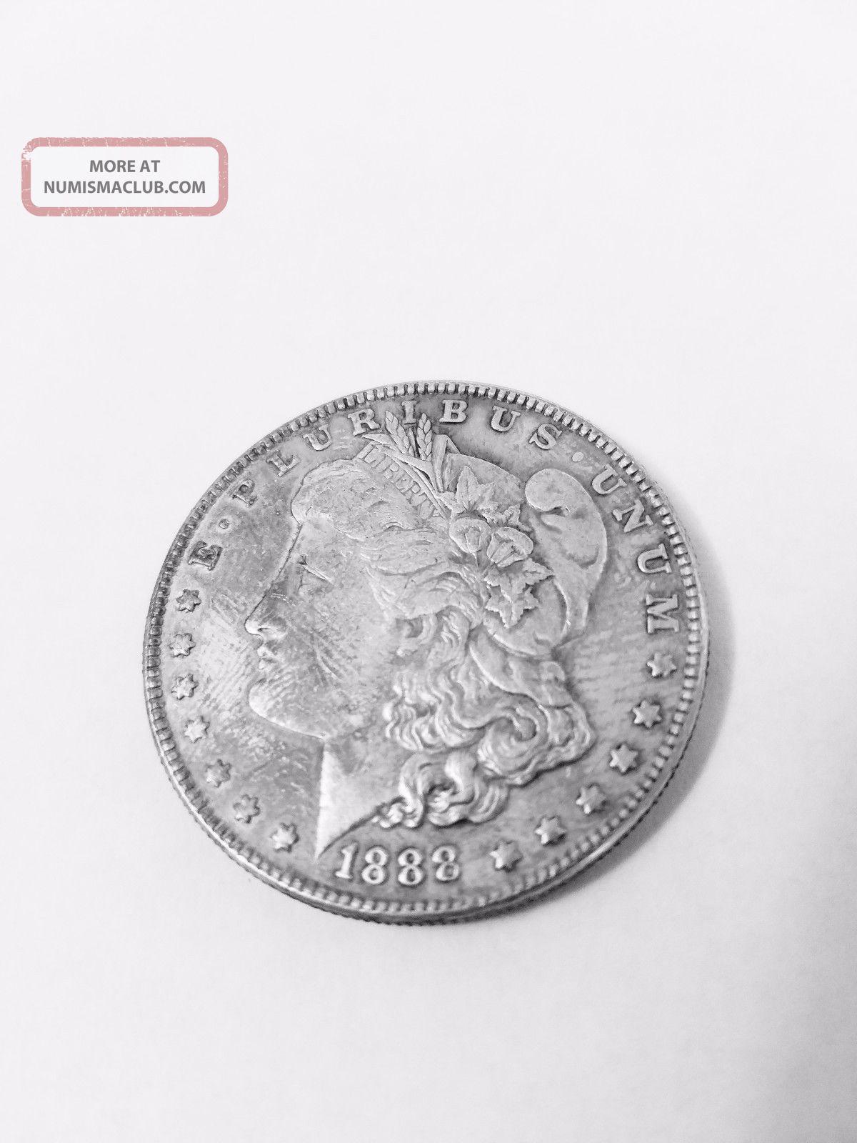 1888 Morgan Silver Dollar Exonumia photo