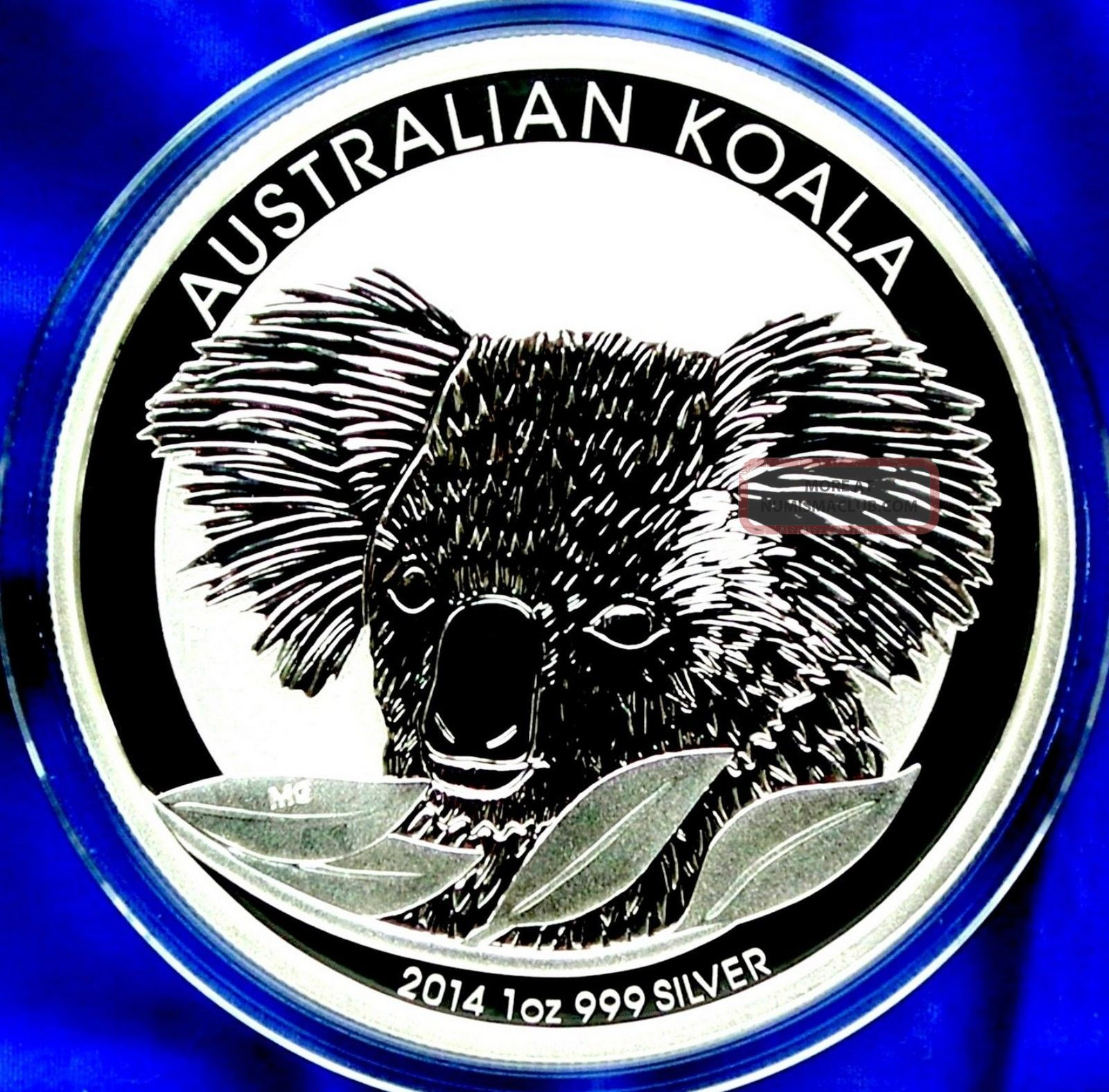 2014 Australia Koala 1 Troy Oz (31.  1g) 99.  9 Pure Silver New/mint/unc Bullion Australia & Oceania photo