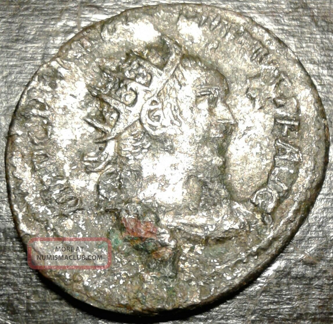 Ancient Silver Coin Follis Trajan Roman Emperor 98 - 117ad Exceptional Features Coins: Ancient photo