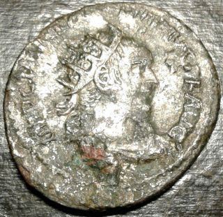 Ancient Silver Coin Follis Trajan Roman Emperor 98 - 117ad Exceptional Features photo