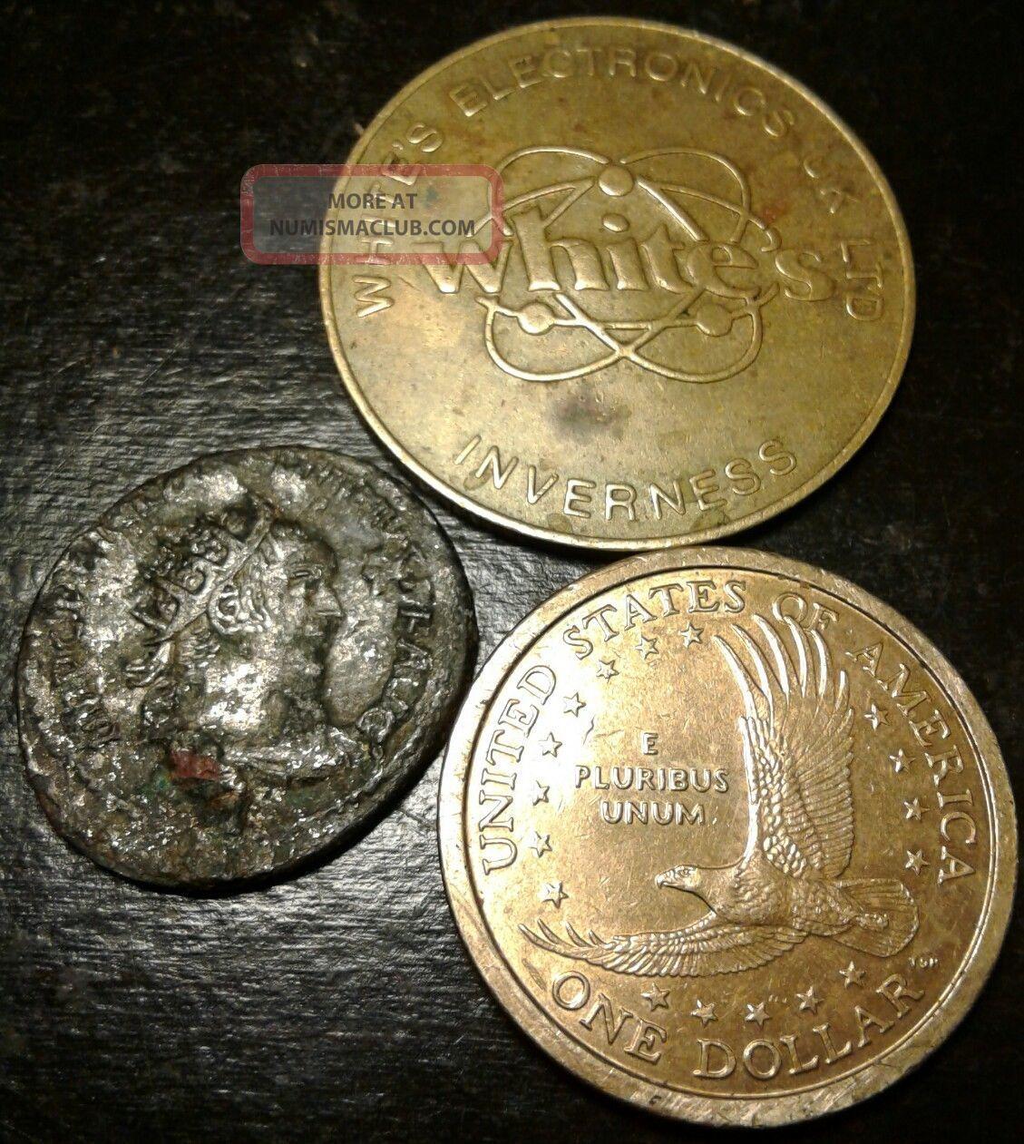 Ancient Silver Coin Follis Trajan Roman Emperor 98 - 117ad ...