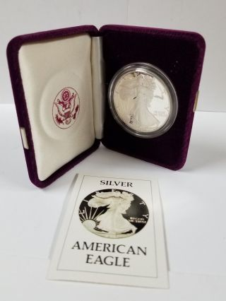 1986 - S Proof American Eagle Silver Dollar photo