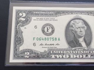 2009 $2 Two Dollar Bill (atlanta