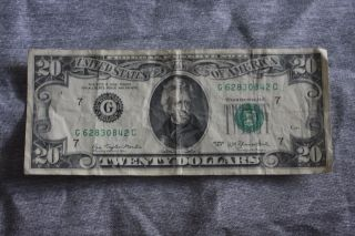 1977 Twenty Dollar Bill photo