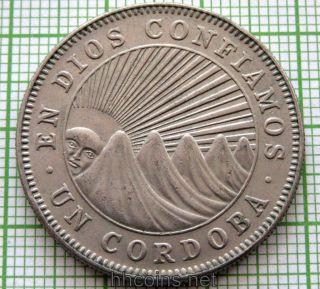 Nicaragua 1972 Cordoba photo