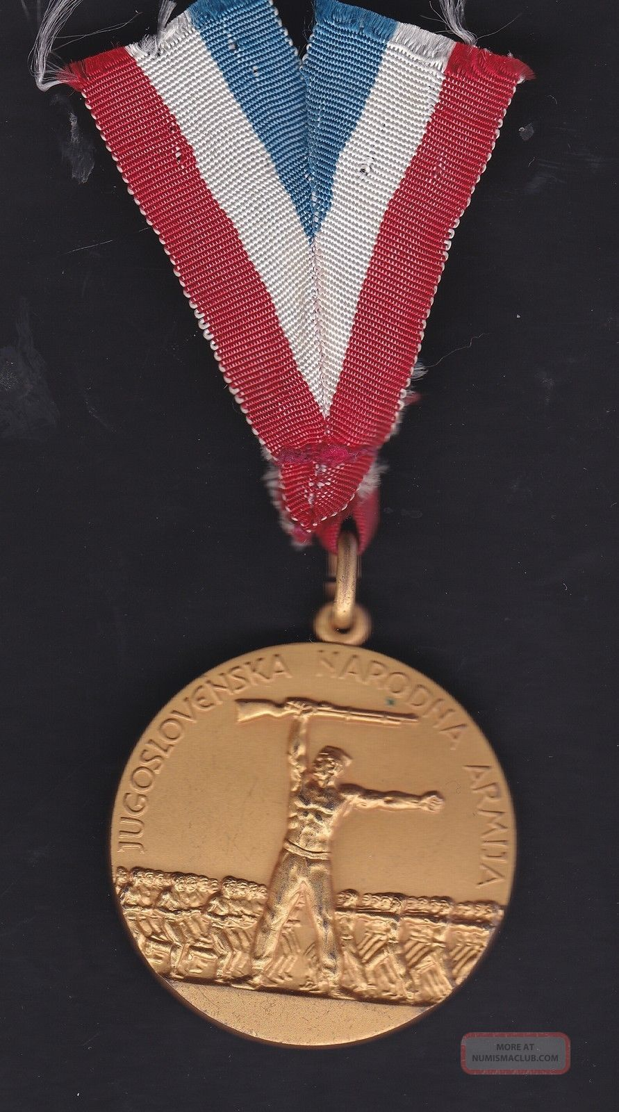 Yugoslavia National Army Service Medal Exonumia photo