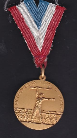 Yugoslavia National Army Service Medal photo