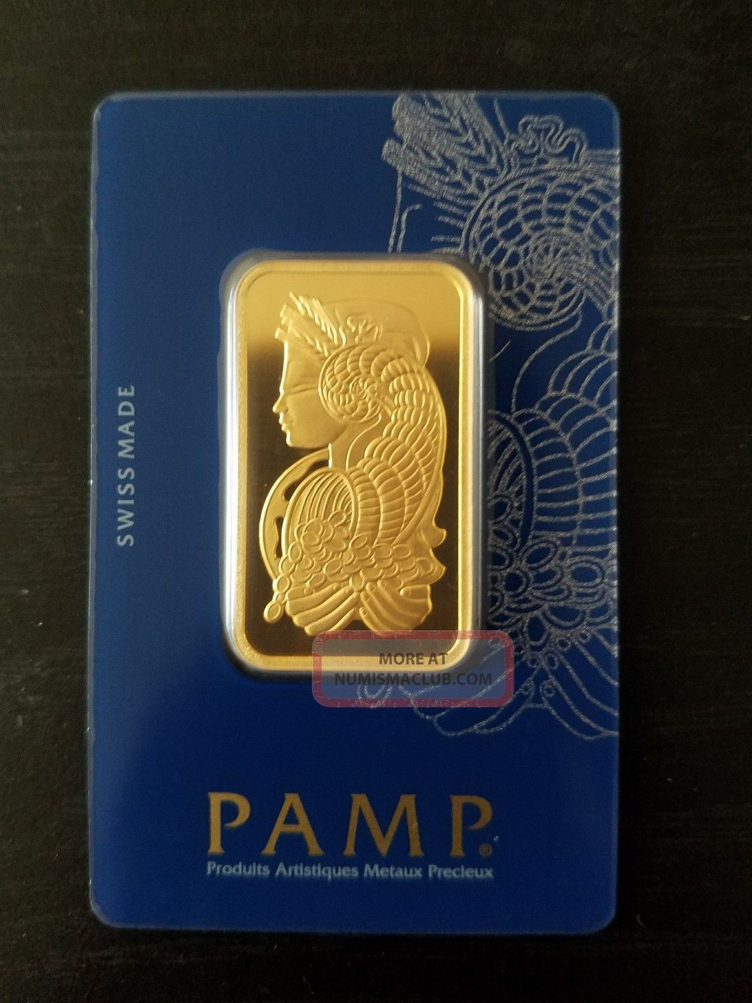Pamp Suisse 1 Troy Oz.  9999 Gold Bar Fortuna W/ Veriscan Assay Cert. Bars & Rounds photo