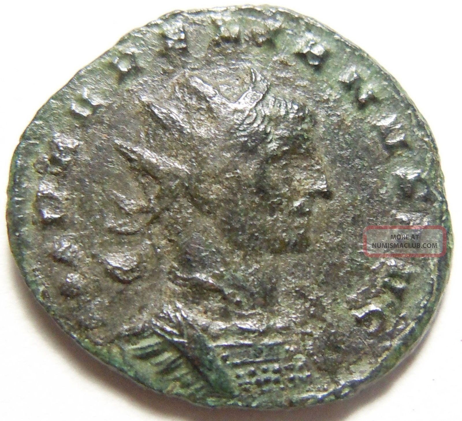 Aurelian Ae Antoninianus Restitvt Orientis,  Female Figure & Emperor Coins: Ancient photo