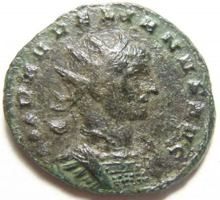 Aurelian Ae Antoninianus Restitvt Orientis,  Female Figure & Emperor photo