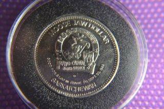 Canada/ Moose Jaw Saskatchewan Mirror Finish Coin/ Centennial 1882/1982 photo