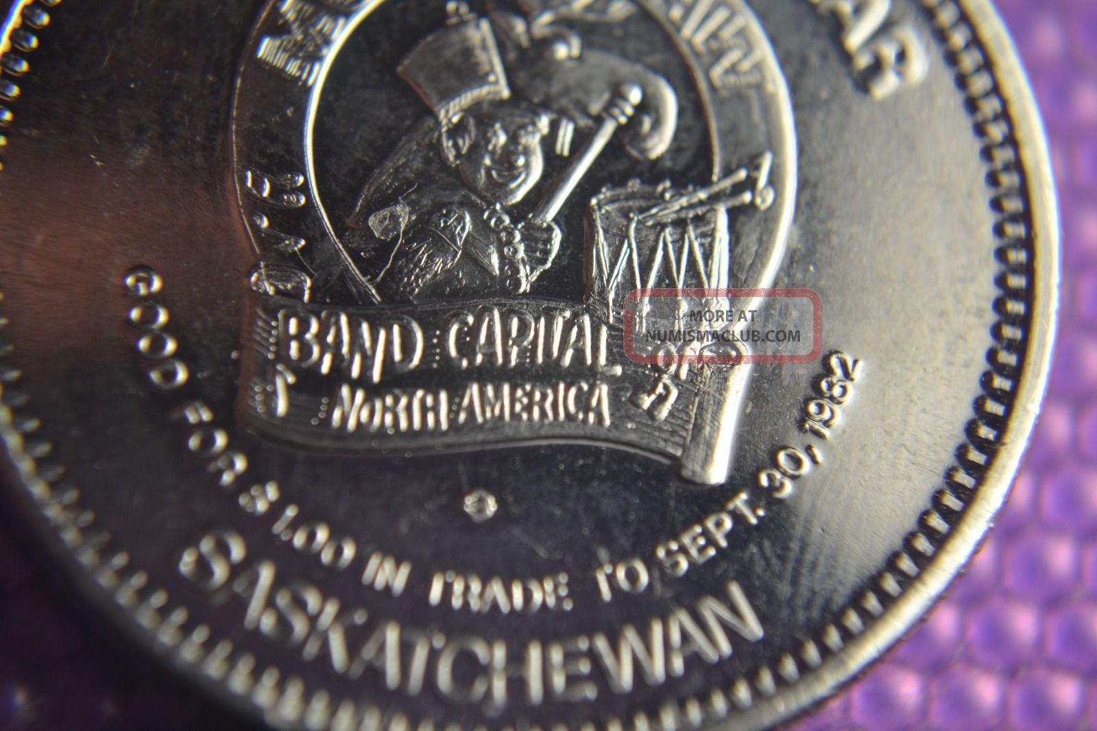 Canada Moose Jaw Saskatchewan Mirror Finish Coin