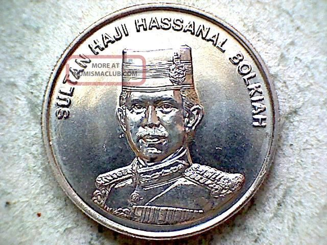 Brunei Hassanal Bolkiah 1994 20 Sen,  Unc Asia photo