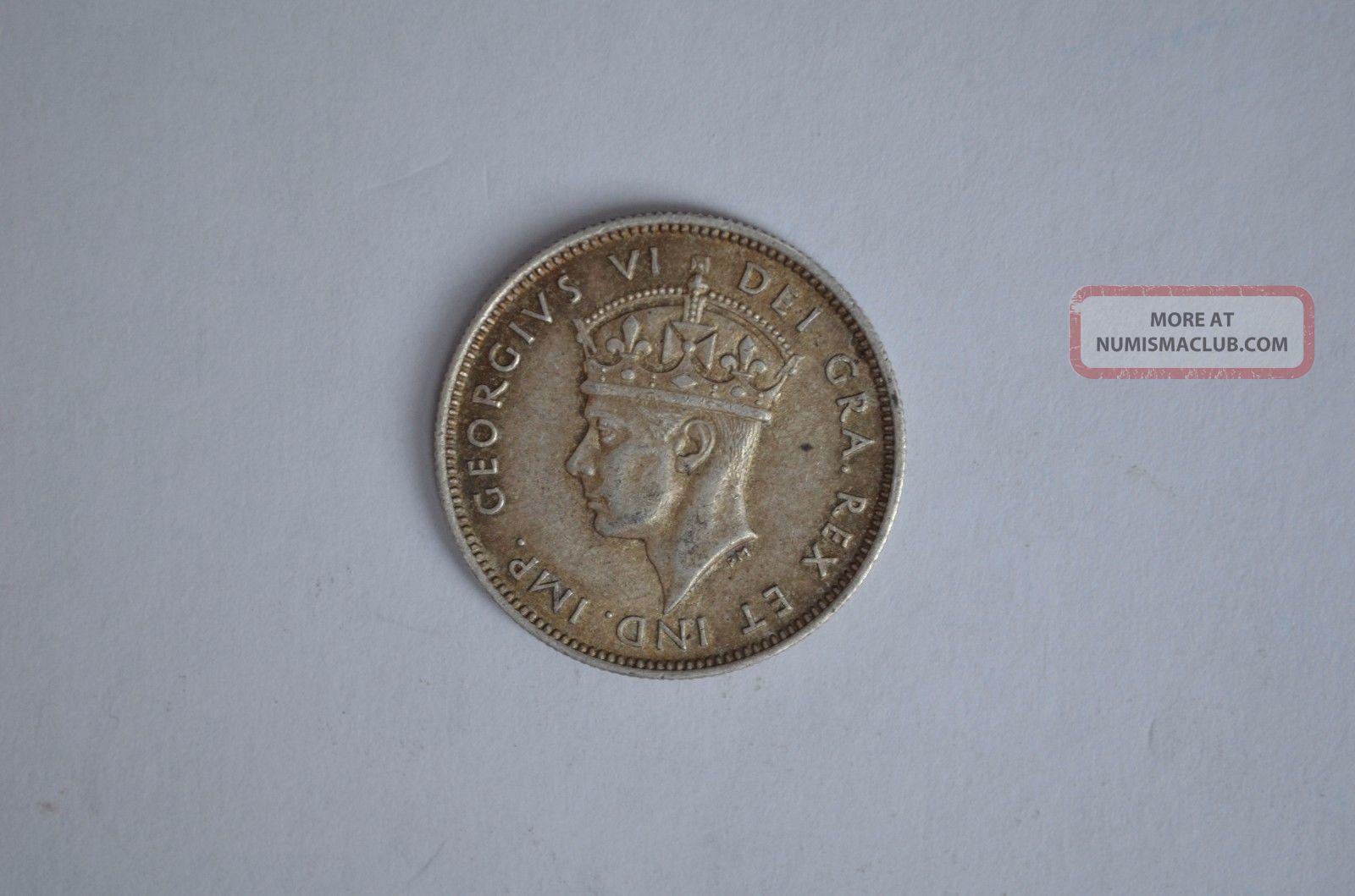 Cyprus 9 Piastres 1938 Silver Europe photo