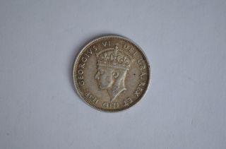 Cyprus 9 Piastres 1938 Silver photo