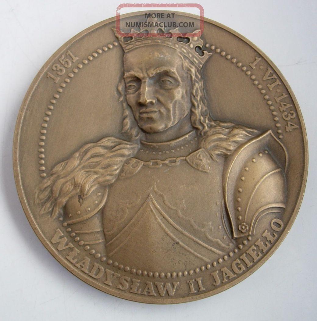 Polish 1410 Tannenberg Grunwald Battle Medal Teutonic Order Exonumia photo