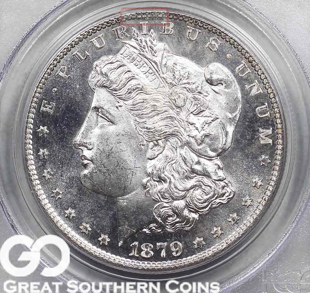 1879 S Morgan Silver Dollar Proof Like Pcgs Ms 65 Pl