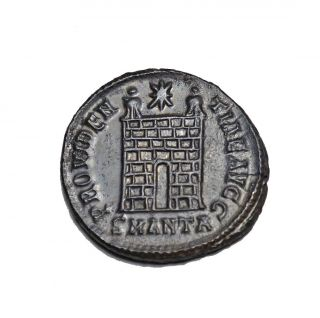 Good Camp Gate Coin Of Constantine I Antioch photo