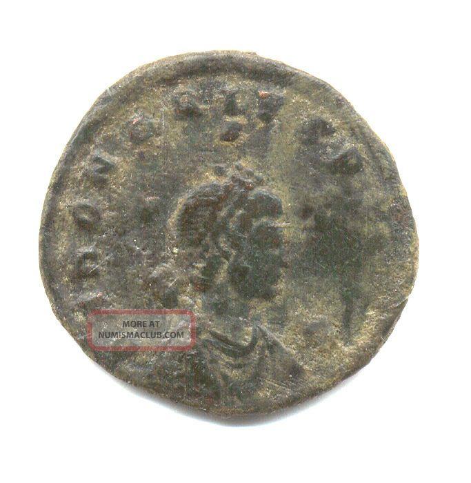 Ancient Roman Coin Honorius Maiorina Gloria Romanorum Consa F/vf Coins: Ancient photo
