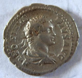 Roman Silver Coin Of Caracalla photo