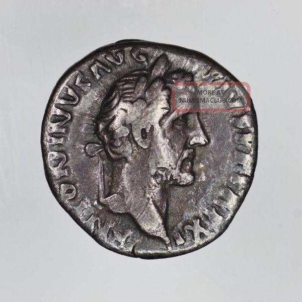 Roman Silver Denarius Antoninus Pius Rome Coins: Ancient photo
