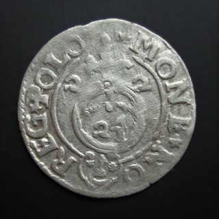 Poland Poltorak 1/24 Thaler 1622 Sigismund Iii Silver Coin S7 photo