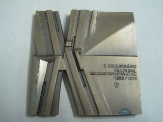 X Anniversary Profabril Design Center 1963/1973 Bronze Medal photo