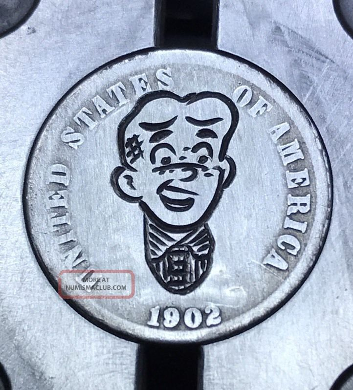 90 Silver Dime Hobo Nickel Coin Art Archie Classic 13 Exonumia photo