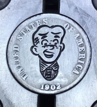 90 Silver Dime Hobo Nickel Coin Art Archie Classic 13 photo