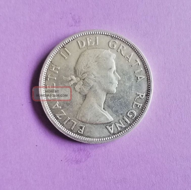 1960 Canadian Voyager Silver Uncirculated Dollar. Coins: Canada photo