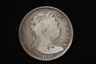 1817 Great Britain.  Half Crown. photo