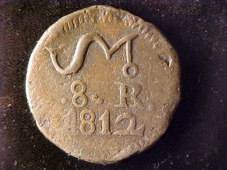 Oaxaca Sud 8 Reales 1812 photo