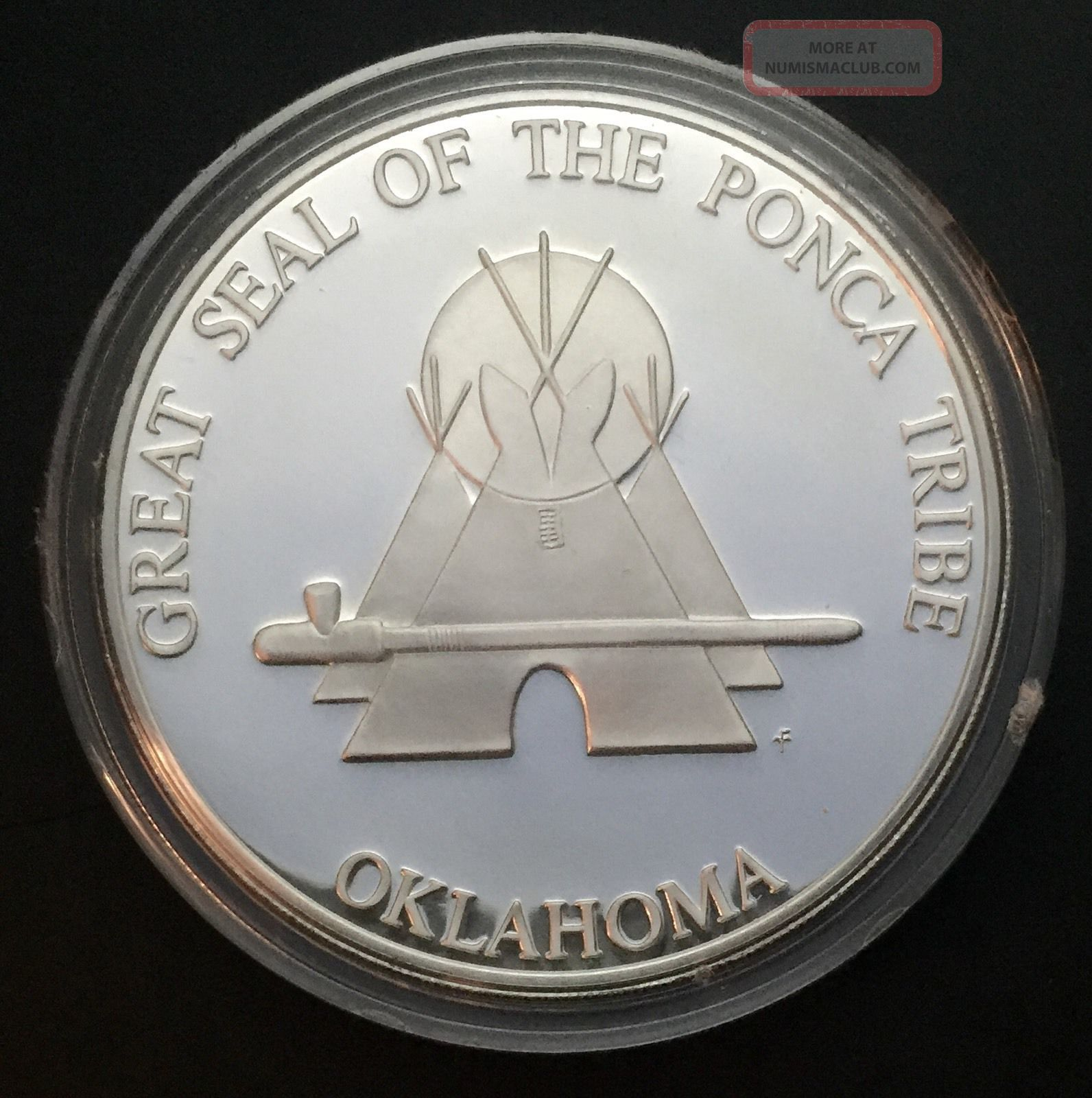 1975 Sovereign Nation Of The Ponca Indian Tribal Series